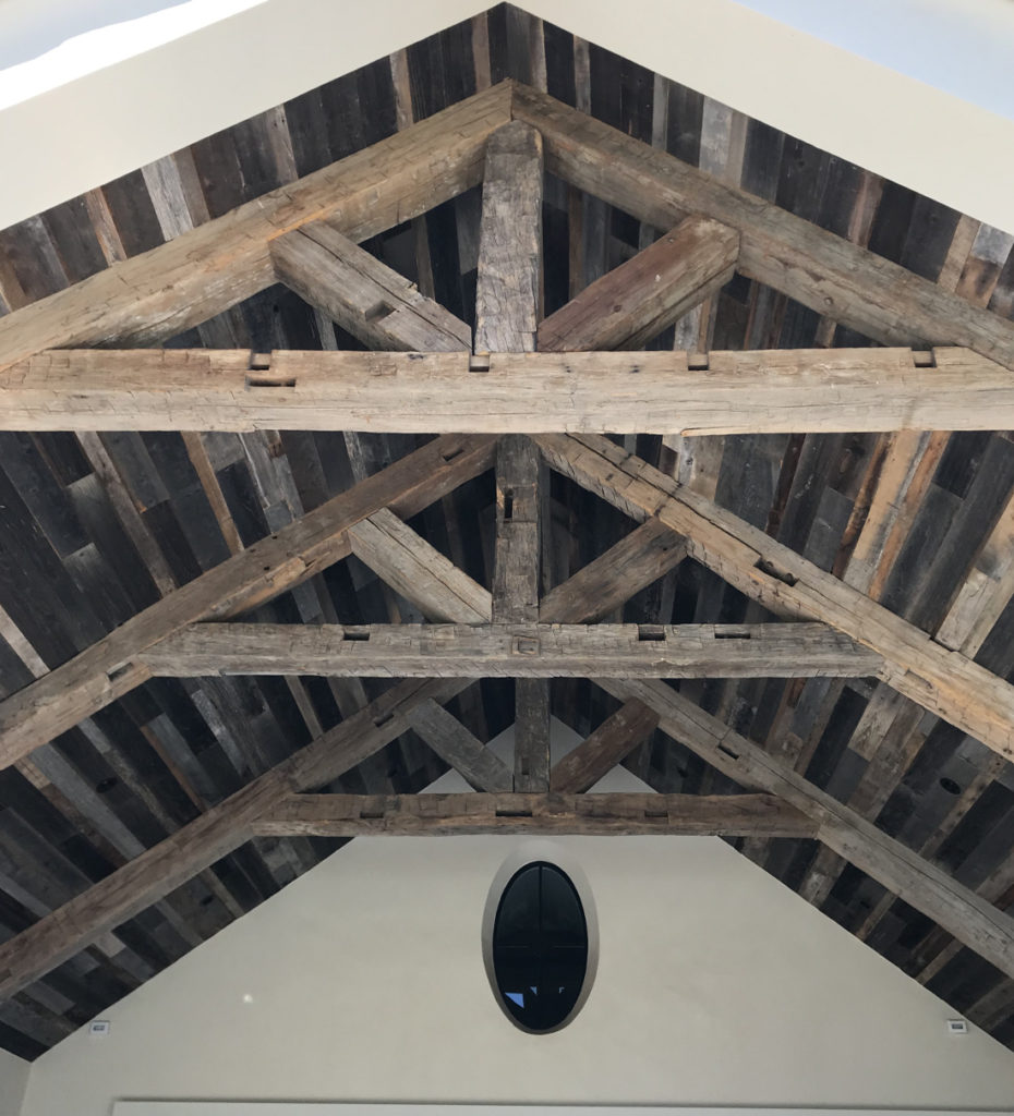 Hand Hewn Beams 9
