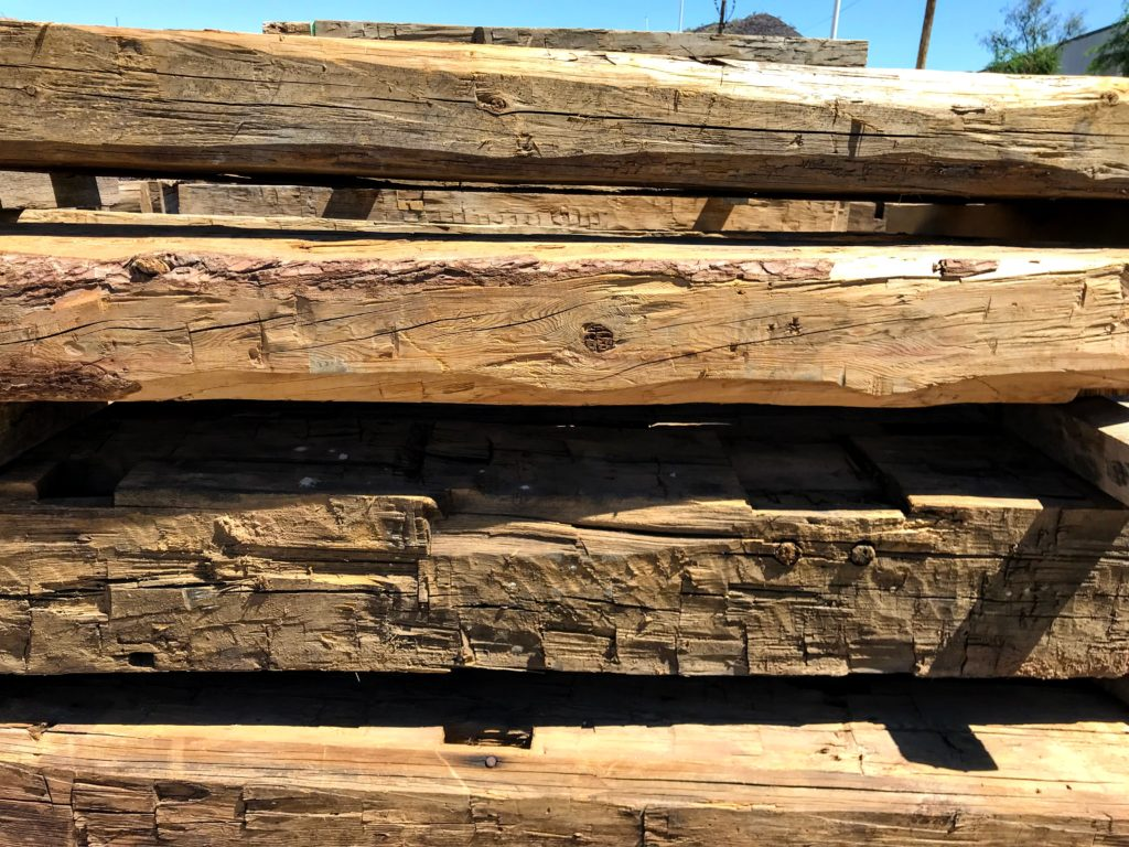 Hand Hewn Beams 6