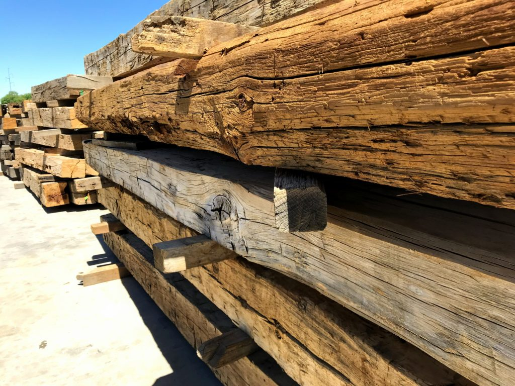 Hand Hewn Beams 5