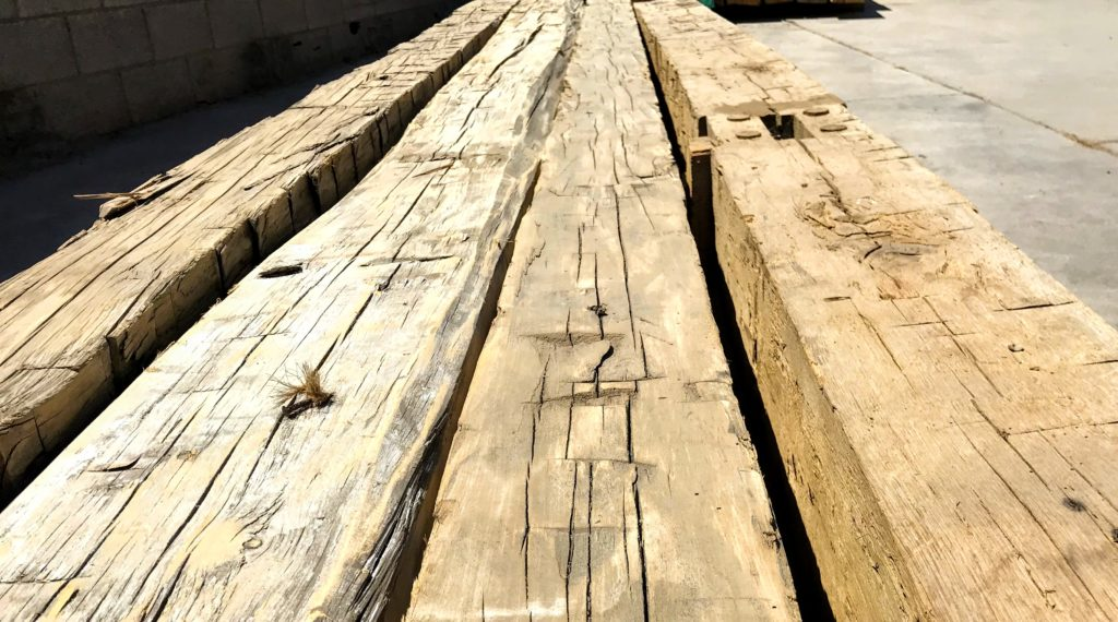 Hand Hewn Beams 4