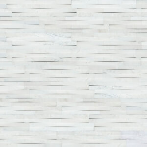 Cosmic White 3D Wave